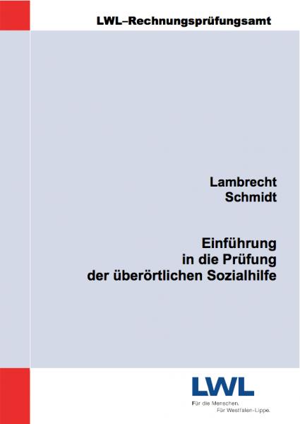 Titelblatt Einführung in die Prüfung der überörtlichen Sozialhilfe